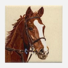 Thoroughbred Horse Tile Coaster