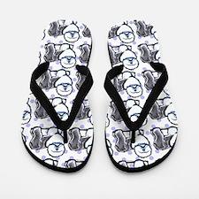 OES Art Flip Flops