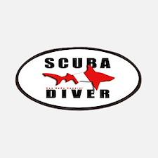 Scuba Diver: SHARK Patches