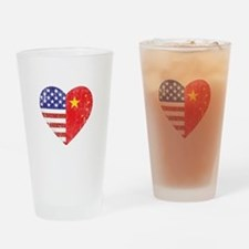 Family Heart Drinking Glass