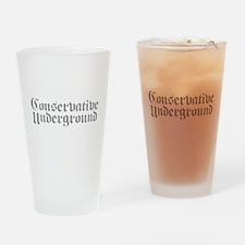 Conservative Underground Drinking Glass