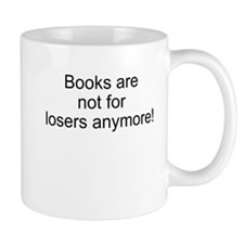 Book sayings Small Mugs