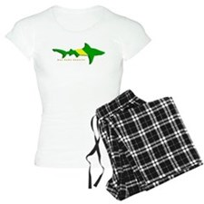 Shark Nitrox Diving Flag pajamas