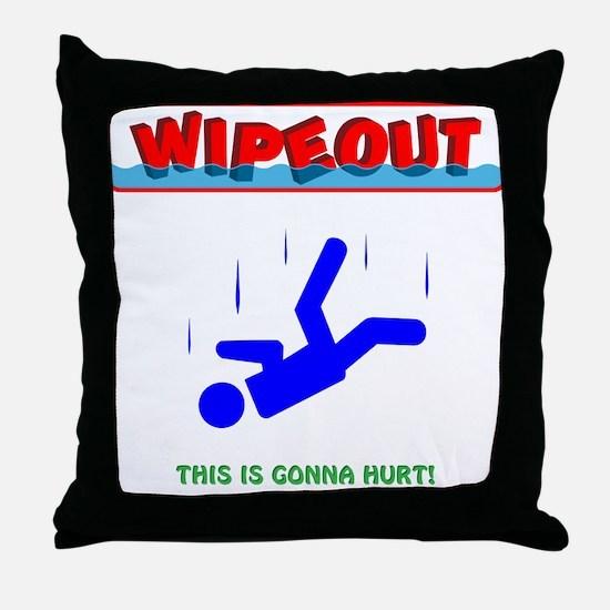 Fall Guys 3 Throw Pillow