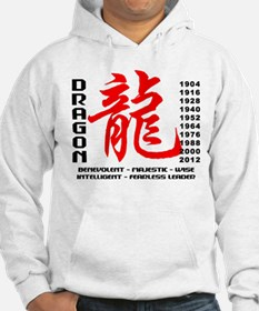 Year of The Dragon Characteristics Hoodie