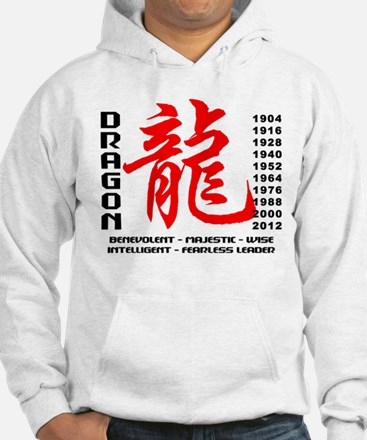 Year of The Dragon Characteristics Jumper Hoody