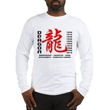 Year of The Dragon Characteristics Long Sleeve T-S