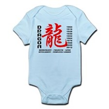 Year of The Dragon Characteristics Infant Bodysuit
