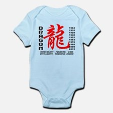 Year of The Dragon Characteristics Infant Bodysuit