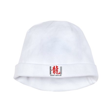 Year of The Dragon Characteristics baby hat