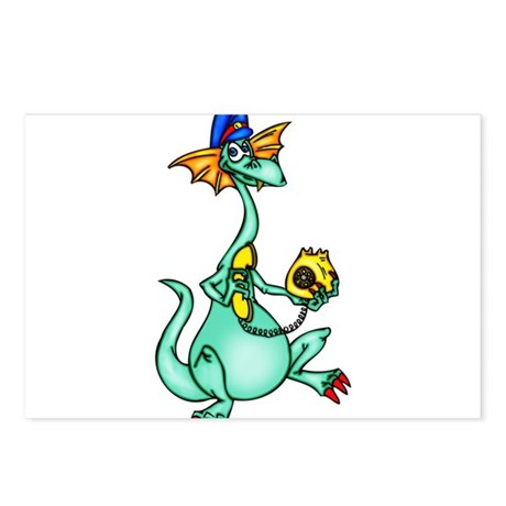 Dragon Phone Calls Postcards (Package of 8)