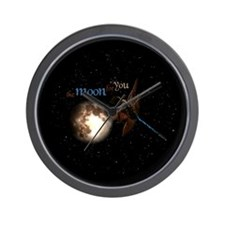 Moon for You Wall Clock