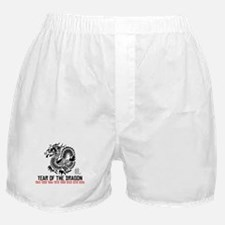 Chinese New Year of The Dragon Boxer Shorts