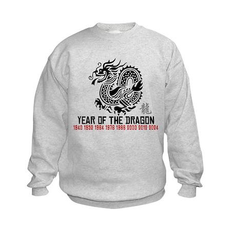 Chinese New Year of The Dragon Kids Sweatshirt