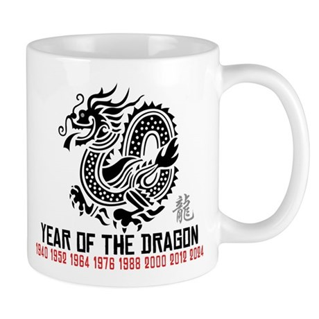 Chinese New Year of The Dragon Mug