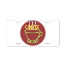 COFFEE {31} Aluminum License Plate