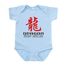 Chinese Astrology Dragon Infant Bodysuit