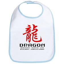Chinese Astrology Dragon Bib