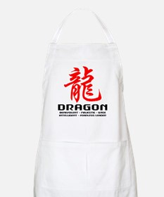 Chinese Astrology Dragon Apron