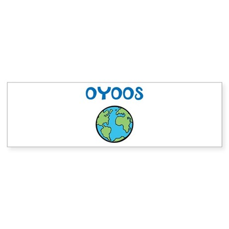 OYOOS Kids World design Sticker (Bumper)