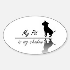 My Pit is my shadow Decal