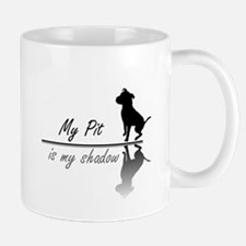 My Pit is my shadow Small Mugs