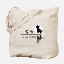 My Pit is my shadow Tote Bag