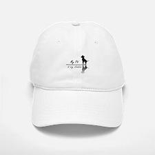My Pit is my shadow Baseball Baseball Cap
