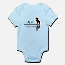 My Pit is my shadow Infant Bodysuit