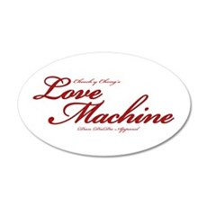 Love Machine 22x14 Oval Wall Peel