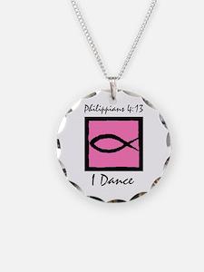 Cute Jazz dancer Necklace