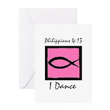 Christian Dancer Greeting Card