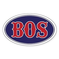 Boston Oval Decal
