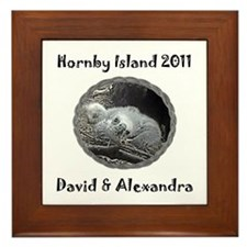 Cute Alexandra Framed Tile