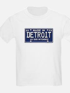 Made in Detroit Kids T-Shirt