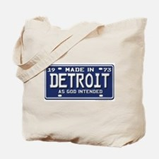 Made in Detroit Tote Bag