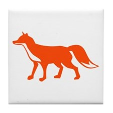 Fox Tile Coaster