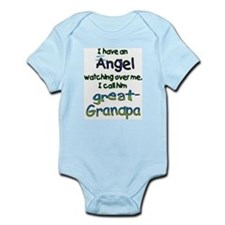 ANGEL CALLED GREAT GRANDPA Infant Bodysuit