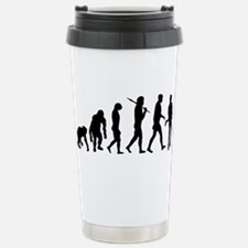 Evolution of Guitarist Travel Mug