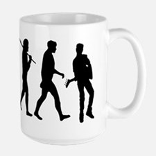 Evolution of Guitarist Mug