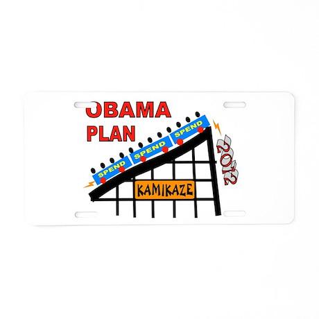 DISASTER PRESIDENT Aluminum License Plate