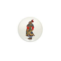 Japanese Samurai Warrior Mini Button (10 pack)