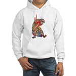 Japanese Samurai Warrior Hooded Sweatshirt