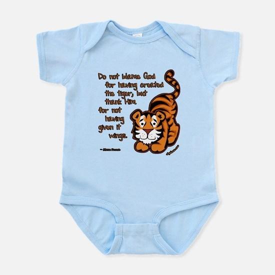 Thank Him Tiger Infant Bodysuit