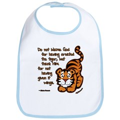 Thank Him Tiger Bib