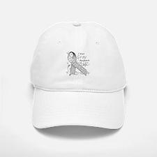 I Wear Grey, I Love My Husban Baseball Baseball Cap
