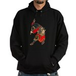 Japanese Samurai Warrior Hoodie (dark)