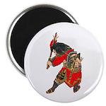 Japanese Samurai Warrior Magnet