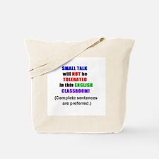 Cute English teacher coffee Tote Bag