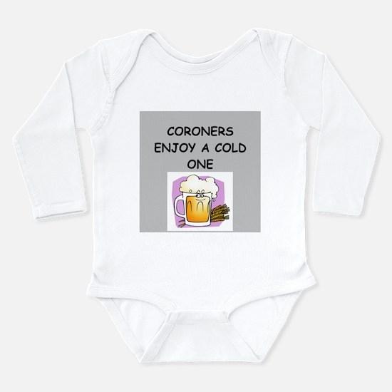 coroner Long Sleeve Infant Bodysuit